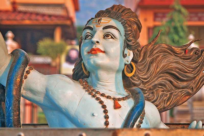 Majuli ist das Heimtland des Hinduismus