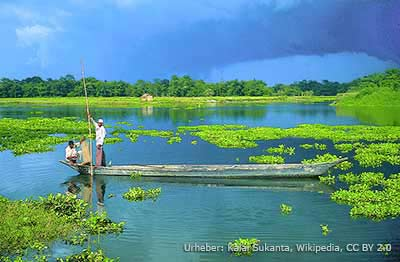 Fischerei auf Majuli
