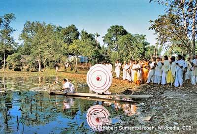 Traditionen auf Majuli